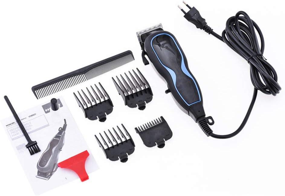 Cortapelos profesionales Cortapelos eléctricos para hombres Cortapelos inalámbrico A prueba de agua Maquinillas de afeitar Cortador de pelo recargable Máquina de afeitar - 2020 Nuevo,Azul