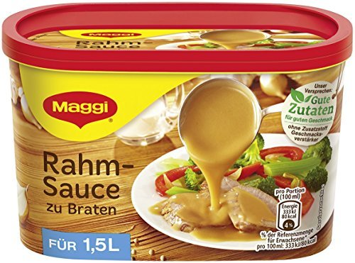 (Maggi Creamy Gravy for Roasts ( Rahmsosse zu Braten ) - for 1.5 L by Maggi )
