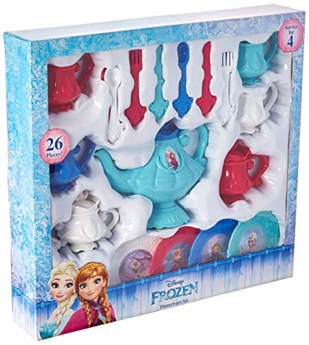 Disney Frozen Characters - Disney Frozen 26 Piece Dinnerware Tea