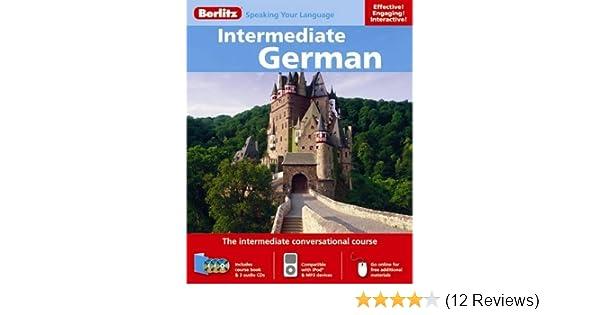 Amazon com: Berlitz Intermediate German (9789812684080
