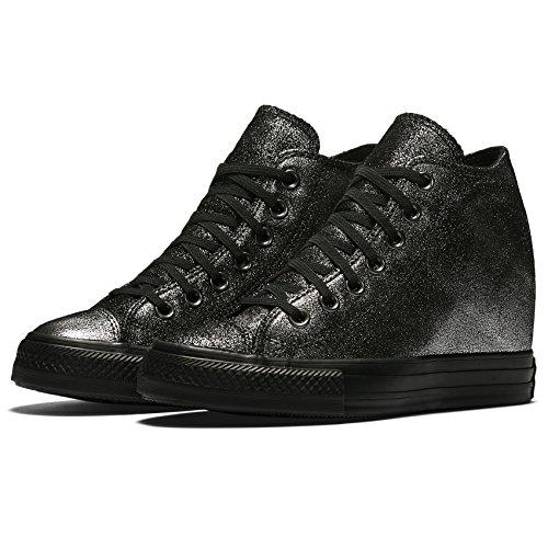 Converse - Zapatillas de Lona para mujer Plata
