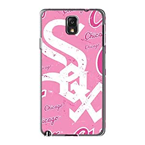 JacquieWasylnuk Samsung Galaxy Note 3 Protective Hard Phone Covers Custom Trendy Chicago White Sox Pictures [kXQ777wWxd]