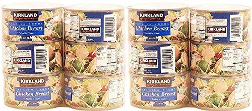 Kirkland Signature Premium Chunk Chicken Breast Packed in...