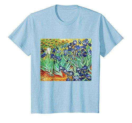 Irises by Vincent van Gogh | Famous Painting T-Shirt