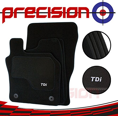 Fitted Tailored Car Mats with TDi Logo For À udi A3 (2013-2018) Precision