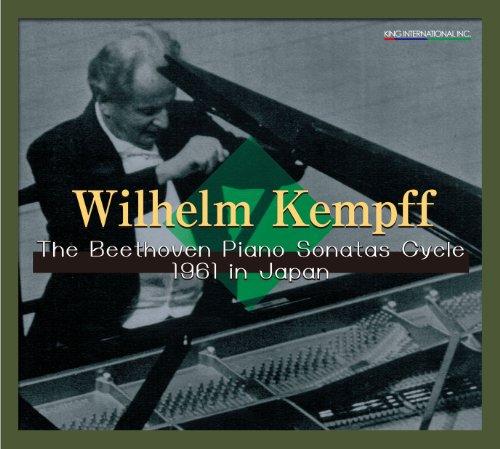 ウィルヘルム・ケンプ 1961年 ベートーヴェン・ピアノソナタ全曲連続演奏会ライヴ (Wilhelm Kempff / The Beethoven Piano Sonatas Cycle 1961 in Japan) [9CD Box] [Limited Edition] ()