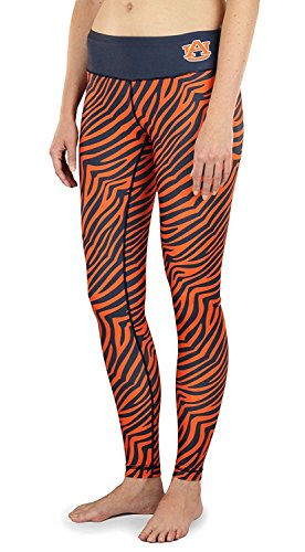 (Forever Collectibles NCAA Womens Auburn Tigers Thematic Print Leggings, Orange)