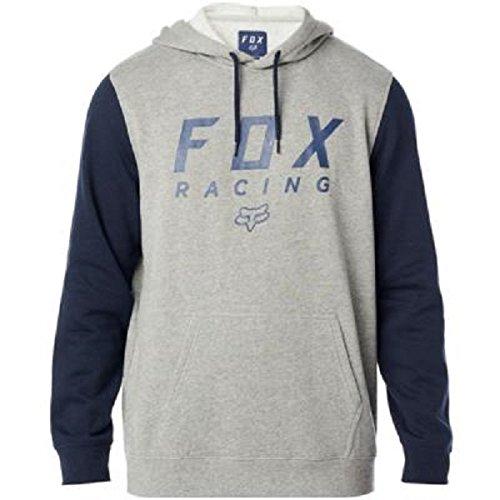 - Fox Men's All Day Pullover Fleece, Heather Graphite, XL