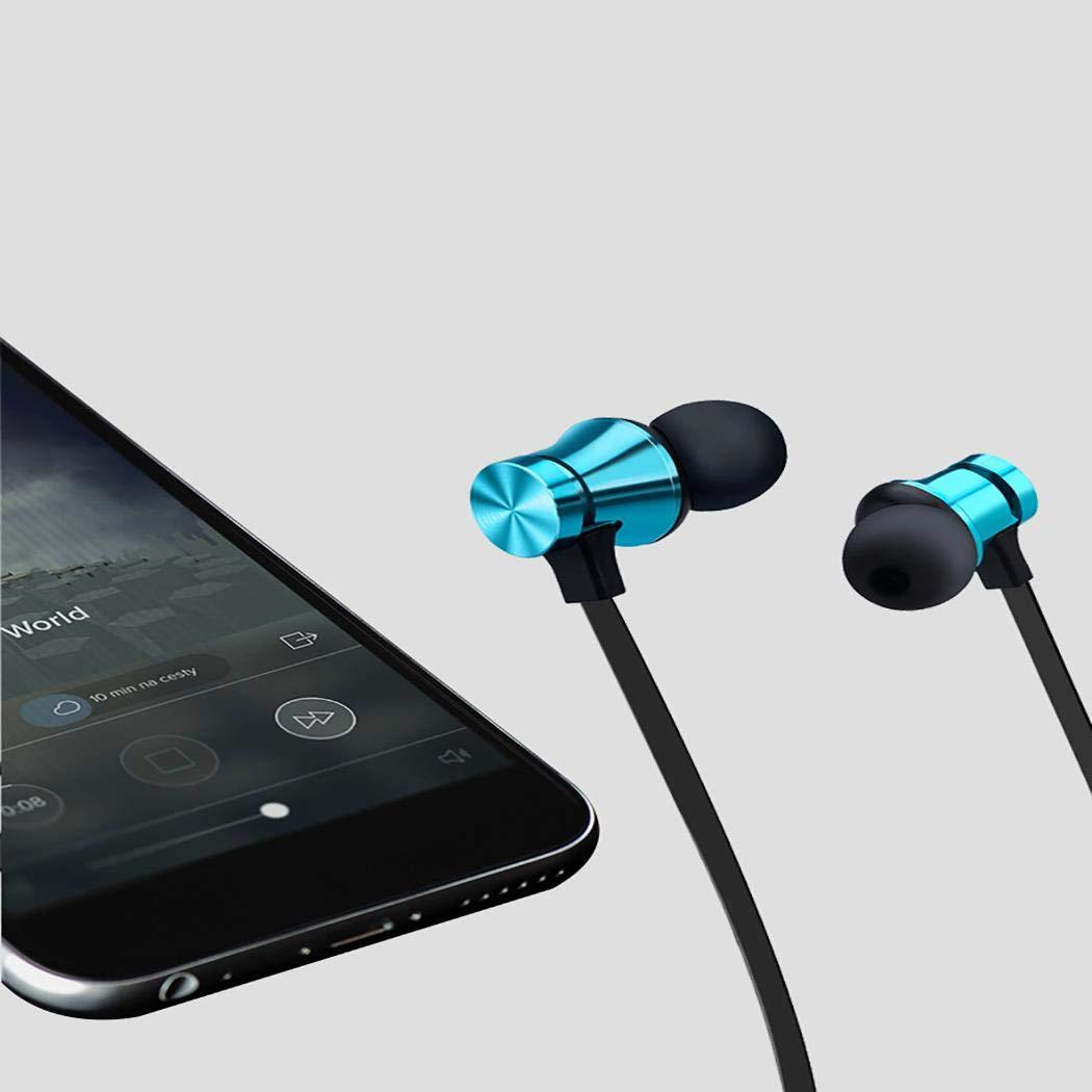 Porrity Stereo Auricolari in-Ear Auricolari Vivavoce Auricolari Bluetooth Sport Cuffie Bluetooth