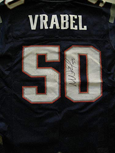 Mike Vrabel Autographed/Signed New England Patriots Jersey COA