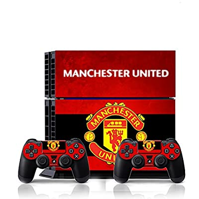 [PS4] Soccer FC #2 EPL - Manchester United Whole Body VINYL SKIN STICKER DECAL COVER for PS4 Playstation 4 System Console and Controllers