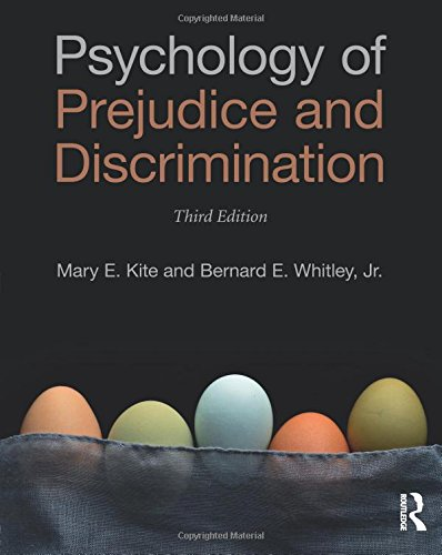 Psychology of Prejudice and Discrimination: 3rd Edition [Mary E. Kite - Bernard E. Whitley  Jr.] (Tapa Blanda)