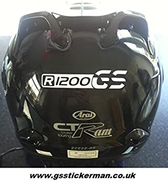 Reflectante BMW R1200gs Liquid Cooled Casco Pegatinas (todos los colores)