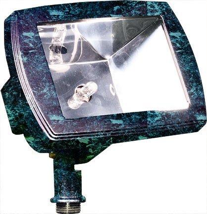Dabmar Lighting LV105-VG Cast Aluminum Directional Area Flood Light, Verde Green