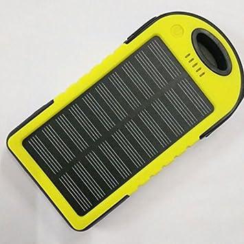 cewaal Solar de Cargador Solar Power Bank externa Backup de ...
