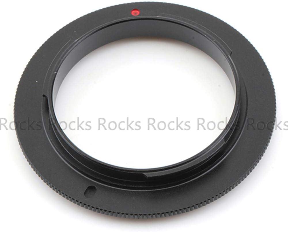 Pixco Lens Adapter for Sony NEX E Mount 49mm Macro Reverse Adapter Ring NEX-5T NEX-3N NEX-6 NEX-5R NEX-F3 NEX-7 NEX-5N NEX-5C NEX-C3 NEX-3 NEX-5 NEX-VG10 NEX-VG20