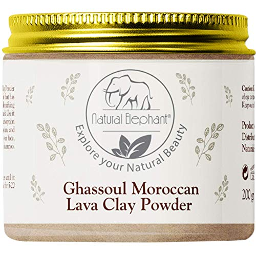Natural Elephant Ghassoul Moroccan Lava Clay Powder 200g (7oz)