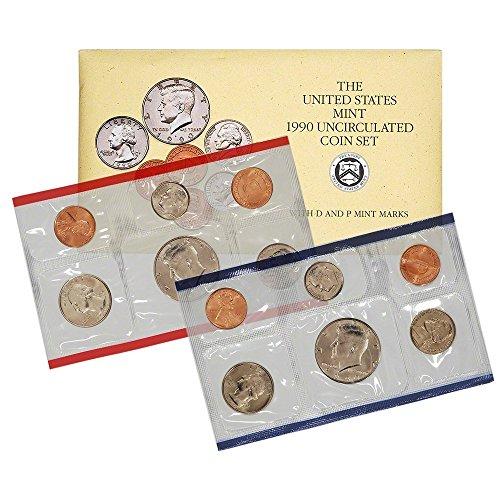 1990 P & D United States US Mint Set