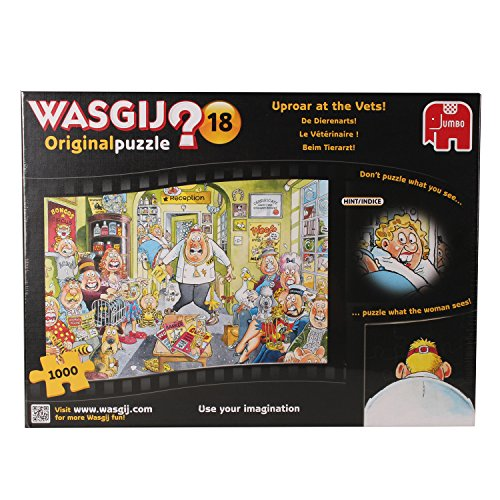 Wasgij 1000 Piece Original 18 Uproar At The Vets Jigsaw Puzzle