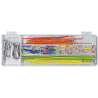 Elenco 140 Piece Pre-formed Jumper Wire Kit: Toys & Games