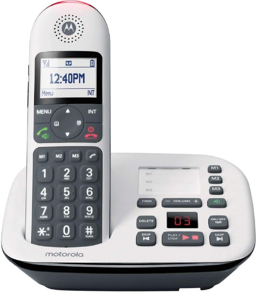 motorola CD5011 Digital Cordless Telephone Answering Machine