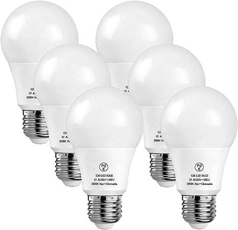 e27 led lamps 700 lumen