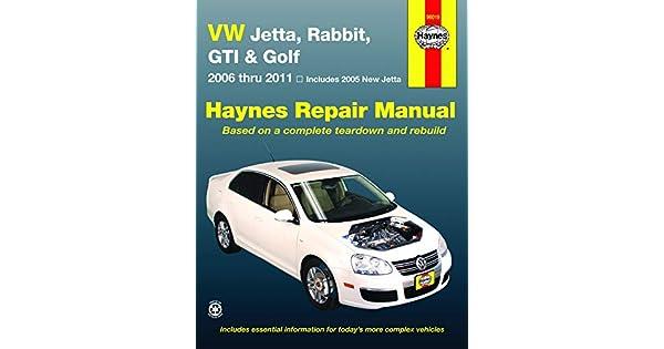 Amazon.com: VW Jetta, Rabbit, GI, Golf Automotive Repair ...