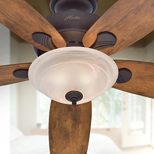 Hunter 60'' Regalia New Bronze Ceiling Fan with Light