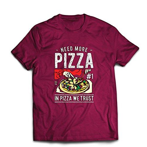 shirt T Pour Citation De Confiance La Bourgogne Multicolore Lepni Dans Faisons Nous Hommes Pizza me qEwxt5Tng