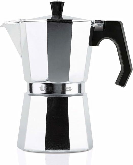 Taurus Cafetera de Vacío, Aluminio, 6 Tazas: Amazon.es: Hogar