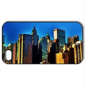 Some color from New YoCase For Iphone 4/4S Cover (Watercolor style, Black)