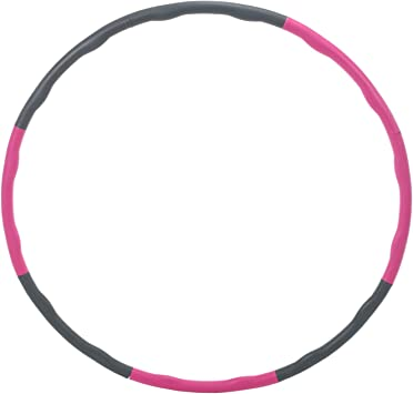 Amazing Fitness Splicing Weighted Soft Hula Hoop 8 Section Detachable Design 2LB