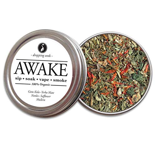 Organic Herbal Smoking Blend For Empathy and Lucidity I SYNC TIN (28 G)
