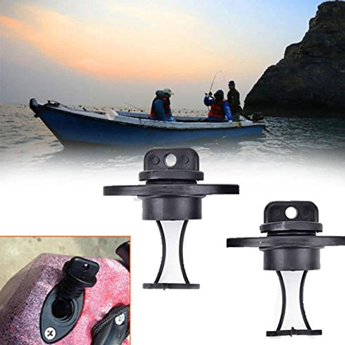 2pcs//set universal drain plug kit plugs bung for dinghy kayak canoes boat