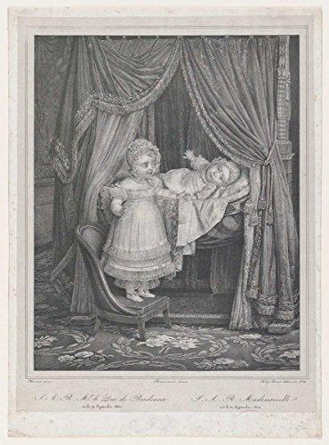 Art Print  S A R  Mgr Le Duc De Bordeaux    Artist  Hyacinthe Louis Victor Jean Baptiste Aubry Lecomte  Created  1822   Antique Vintage Fine Art Poster Reproduction