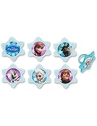 DecoPac Frozen Adventure Friends Cupcake Rings (12 Count)