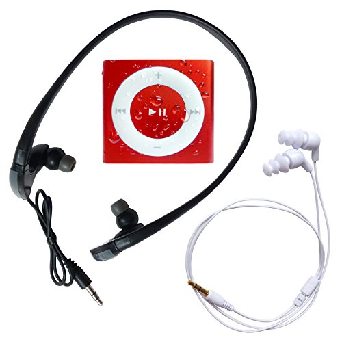 Underwater Audio Mega-Red Waterproof iPod Mega Bundle (Mega Accessory Bundle)