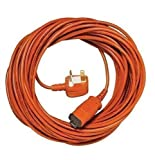 First4Spares 15 Metre Flex Power Cable For Flymo Lawnmowers, Hedge & Grass Trimmers