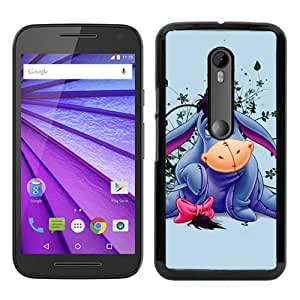 Hot Sale Motorola Moto G 3rd Generation Case ,Eeyore Black Moto G 3rd Gen Cover Unique And Beautiful Designed Phone Case
