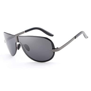 HDCRAFTER Gafas de Sol Polarizadas sin Montura para Hombre ...