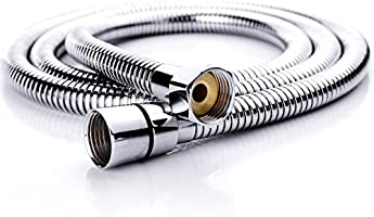SR SUN RISE Flexible 304 Stainless Steel Replacement Shower Hose with Brass Fittings, RV Shower Hose, Explosion-Proof...