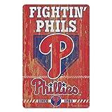 MLB Philadelphia Phillies 11-By-17-Inch Killen Print Wood Sign