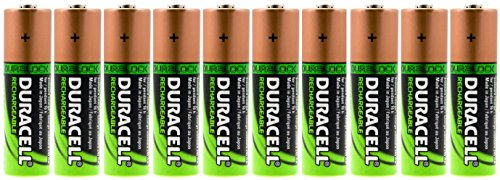 ries Rechargeable NiMH 2450mAh + FREE BATTERY HOLDER (Duracell Recharge)