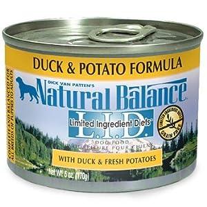Natural Balance L.I.D. Limited Ingredient Diets® Canned Dog Formula