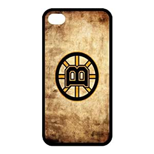Custom Boston Bruins Back Cover Case for iphone 4,4S JN4S-689