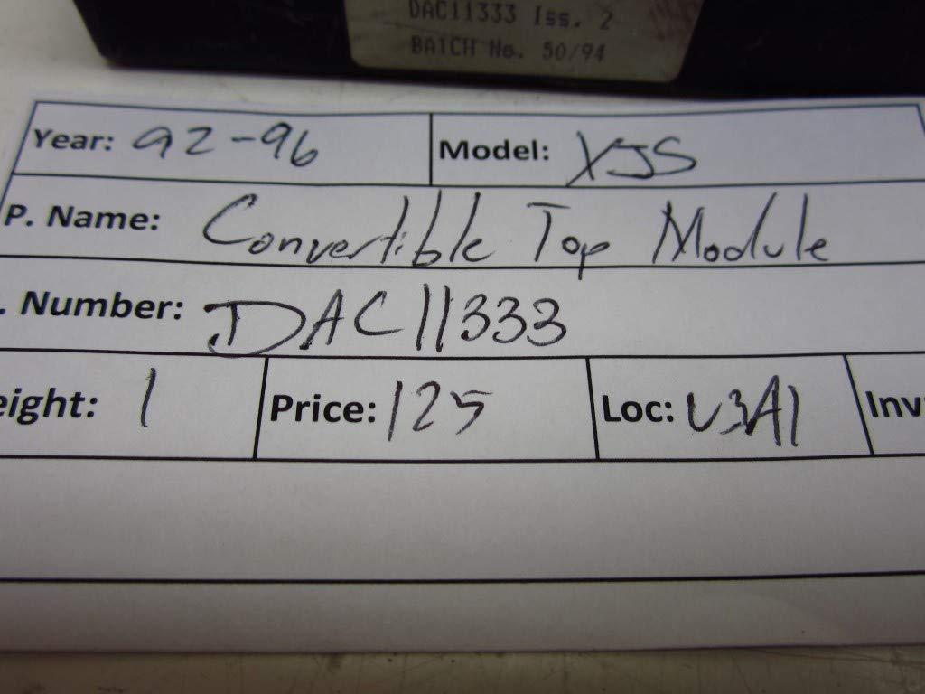 Oem Jaguar Xjs 89-94 Hood//convertible Top Control Module//computer Ecu Dac11333