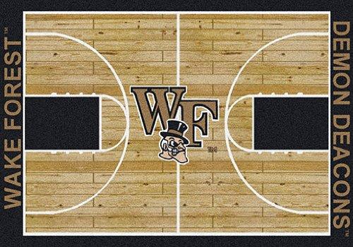 - Milliken College Basketball Court Wake Forest 10'9