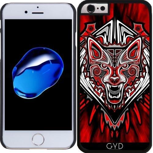 Coque pour Iphone 6 Plus (5,5'') - Style De Tatouage Loup Art Haïda by BluedarkArt
