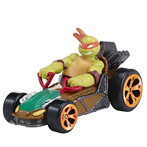 Teenage Mutant Ninja Turtles T-Machines Michelangelo in Patrol Buggy Diecast (Michaelangelo Ninja Turtle)