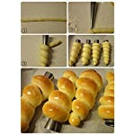 Cream Horn Pastry Roll Molds,Stainless Steel Lady Lock Form,Set of 16 [Free Pastry Bag as Bonus] 7 Cream horns.It's tradition for Mom & Grandma to spend all day in the kitchen making them for special occasions.They're a staple at every Wedding Cookie Table in Youngstown and Pittsburgh. Cream Horn Mold:Strong, durable, stainless steel, corrosion resistant. Food Grade Pastry Bag: reusable, non-stick, tasteless & non-toxic.Clean by warm (40c-50c)will be better.